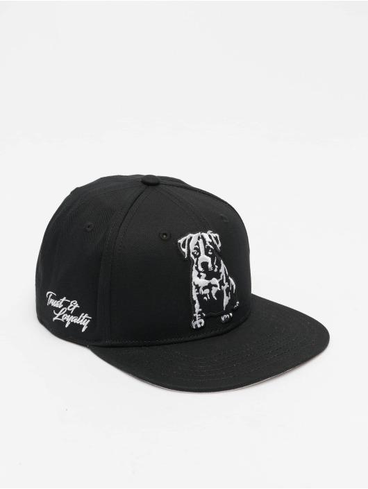 Babystaff Snapback Cap Pica schwarz