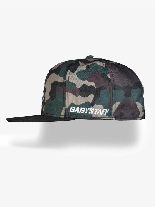 Babystaff Snapback Caps Pica kamufláž