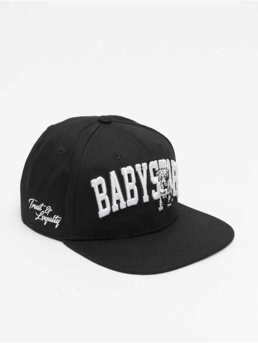 Babystaff Snapback Caps Sirah musta