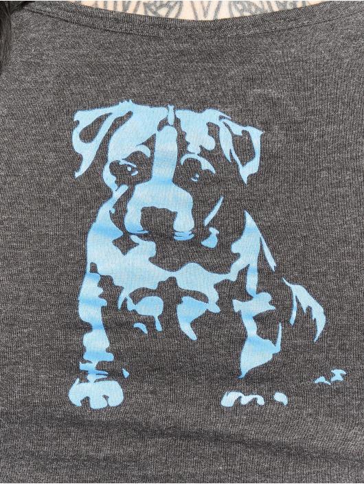 Babystaff t-shirt Nukop grijs