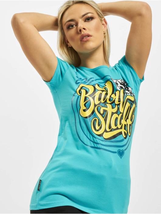 Babystaff T-shirt Sayo turchese