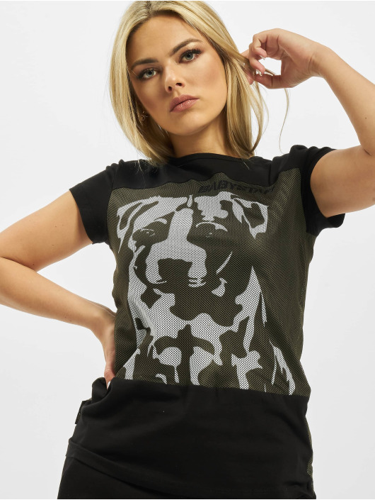 Babystaff t-shirt Veva zwart