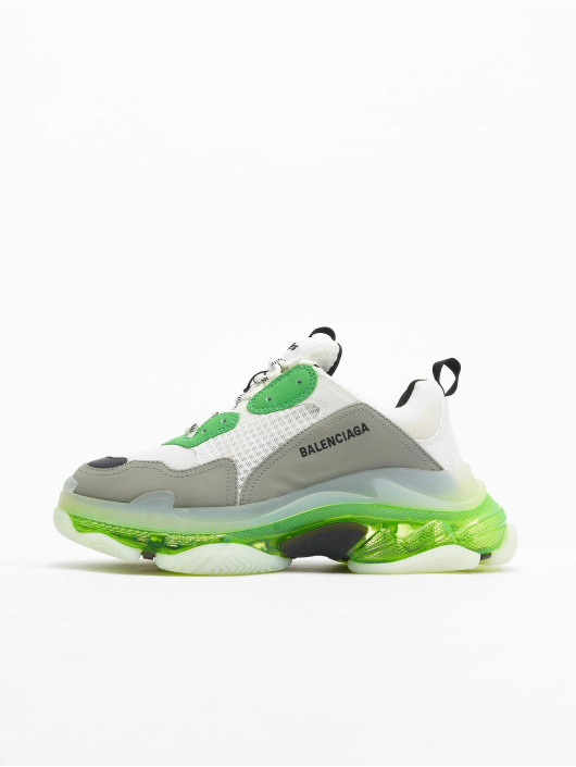 Balenciaga Сникеры Triple S Clear Sole зеленый