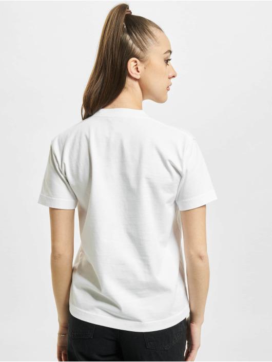 Balenciaga Футболка Small Fit Small Logo белый