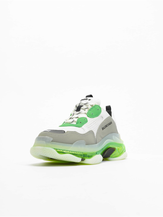 Balenciaga Baskets Triple S Clear Sole vert