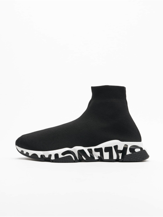 Balenciaga Sneaker Speed LT Graffiti schwarz