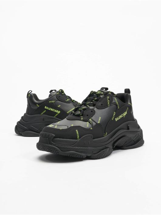 Balenciaga Sneakers Triple S èierna