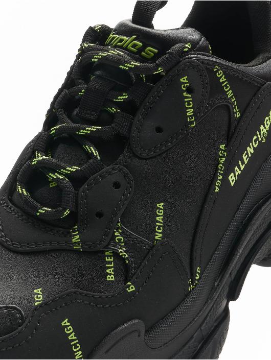 Balenciaga Sneakers Triple S black