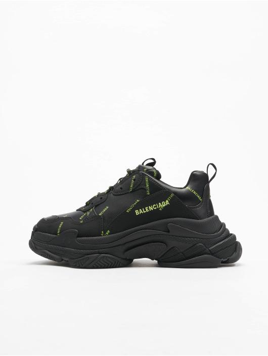 Balenciaga Sneakers Triple S svart