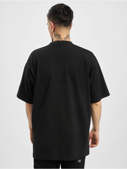 Balenciaga T-paidat GYM WAER Oversize musta
