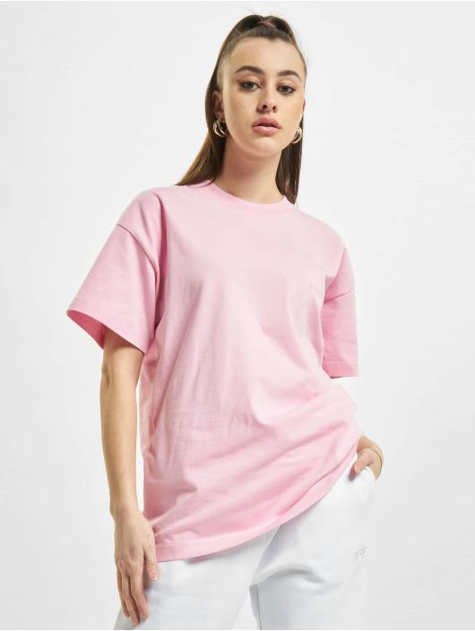Balenciaga T-paidat Back Logo vaaleanpunainen