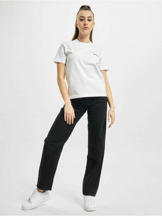 Balenciaga T-paidat Small Fit Small Logo valkoinen