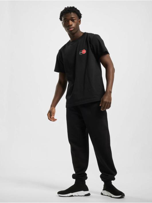 Balenciaga T-shirt Corporate-Logo nero
