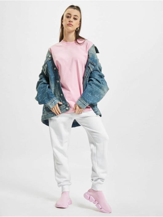 Balenciaga t-shirt Back Logo pink