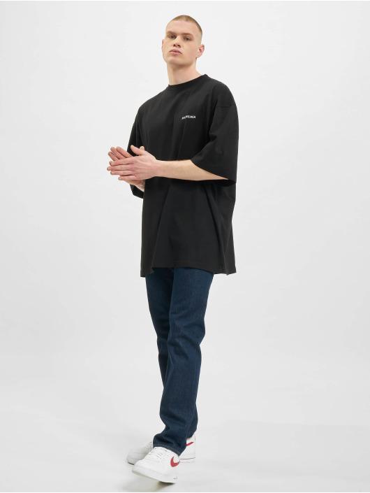 Balenciaga T-shirt Defile Back Logo svart