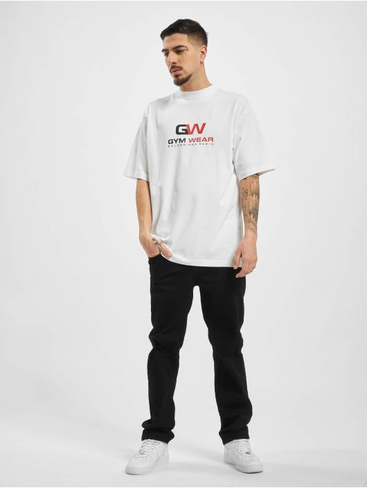 Balenciaga T-shirt GYM WAER Oversize Fit vit