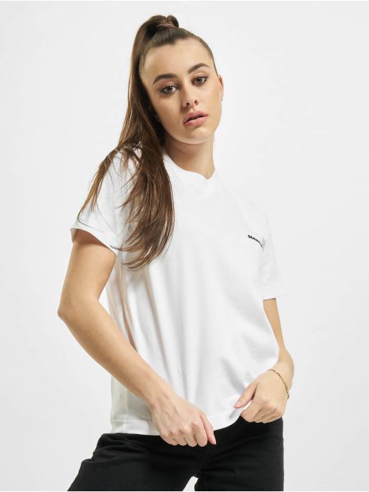 Balenciaga T-shirt Small Fit Small Logo vit