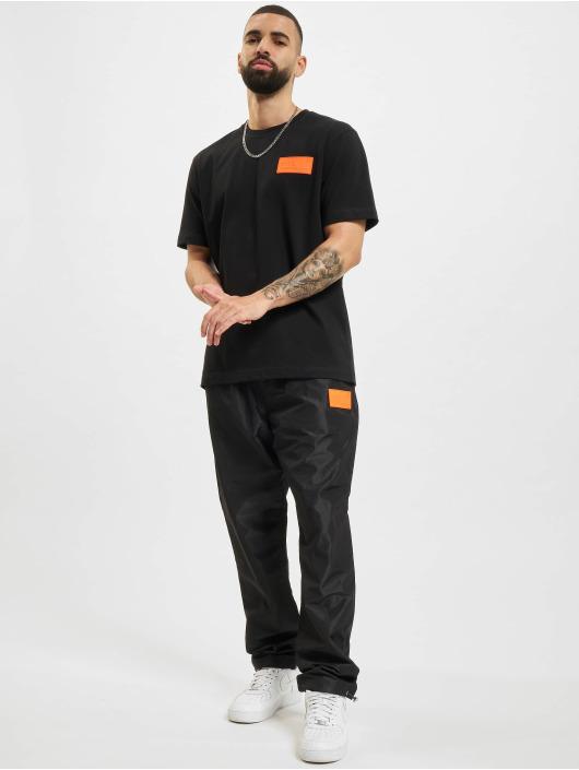 BALR Спортивные брюки Rubber Badge Loose черный