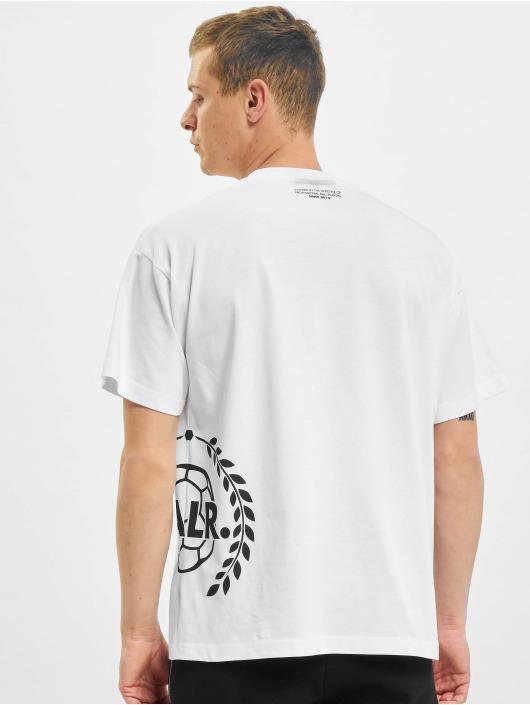 BALR Футболка Crest Print Oversized Fit белый