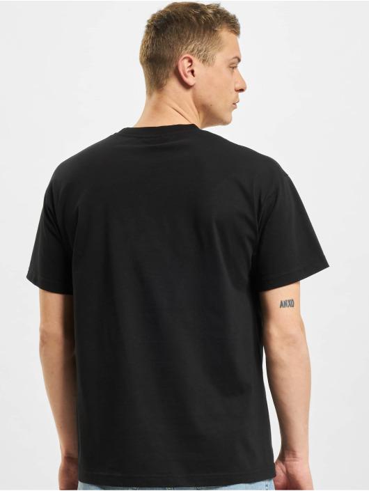 BALR Футболка Satin Print Oversized Fit черный