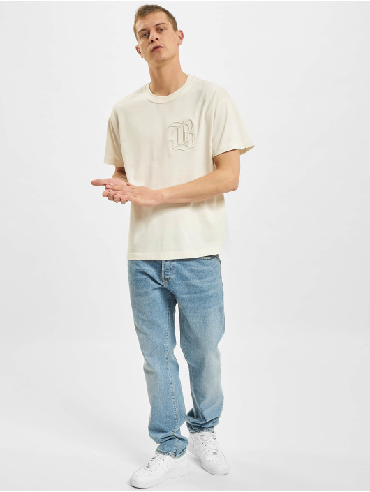 BALR Camiseta B Outlined Oversized Fit beis