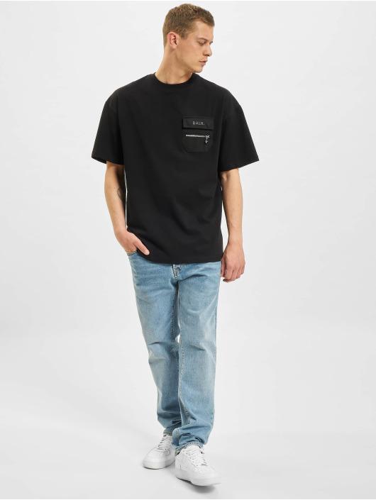 BALR Camiseta Cargo Dropped Shoulder negro