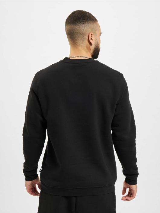 BALR Jersey Brand Straight Crew Neck negro