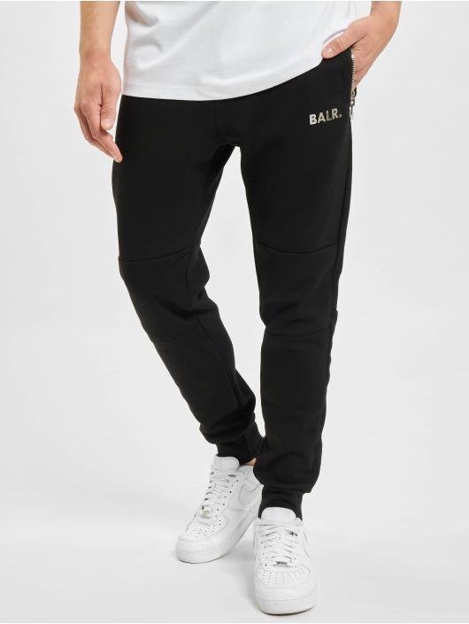 BALR Joggebukser Q-Series Slim Classic svart