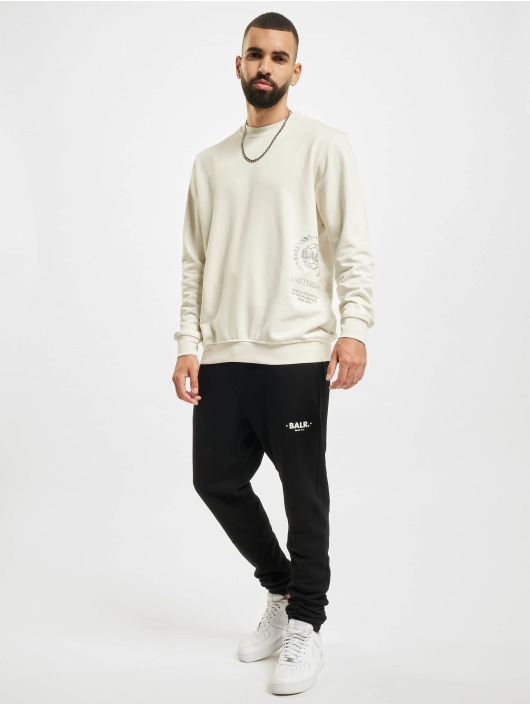 BALR Jogging kalhoty Minimalistic Relaxed Fit čern