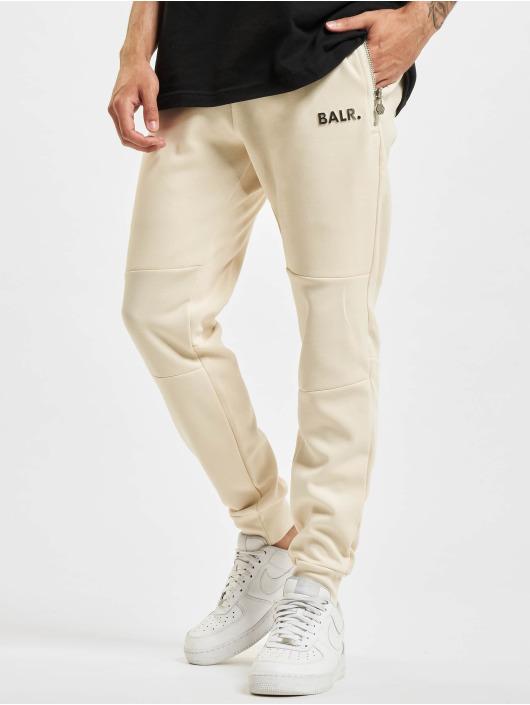 BALR Jogging kalhoty Q-Series Slim Classic béžový
