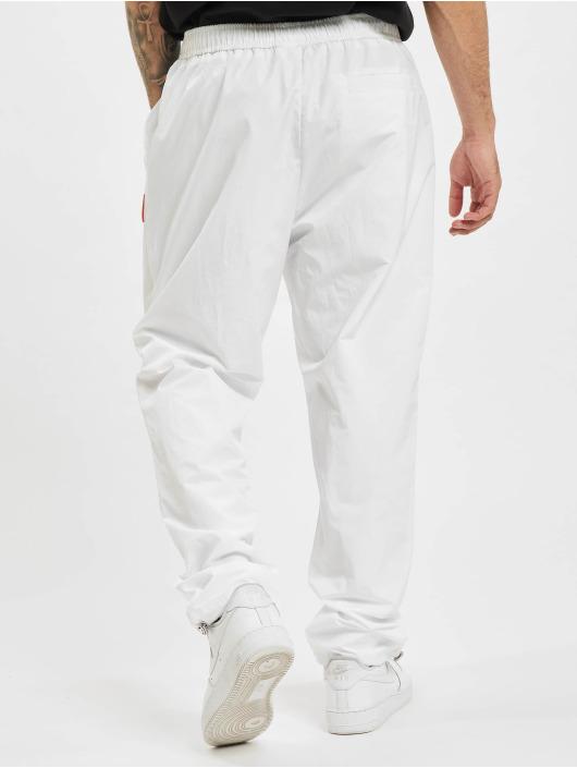 BALR Pantalón deportivo Rubber Badge Loose blanco