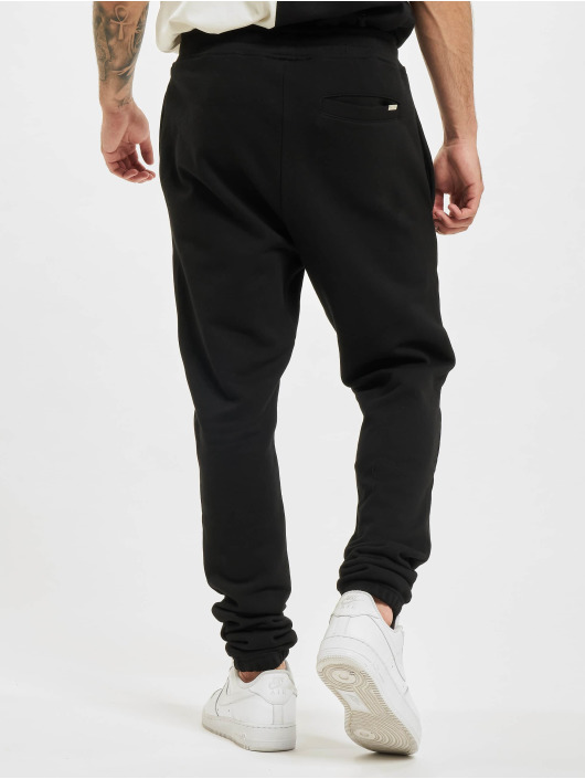 BALR Pantalón deportivo Minimalistic Relaxed Fit negro