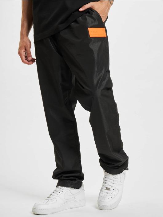 BALR Pantalón deportivo Rubber Badge Loose negro