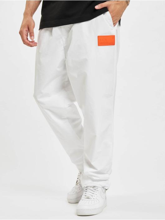 BALR Pantalone ginnico Rubber Badge Loose bianco