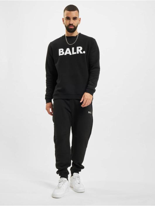 BALR Pullover Brand Straight Crew Neck black