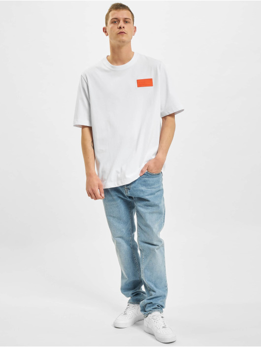 BALR T-shirt LOAB Stadium Loose Fit bianco