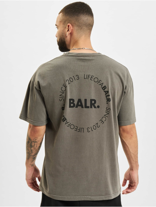 BALR T-Shirt Back Circle Logo Oversized Fit black