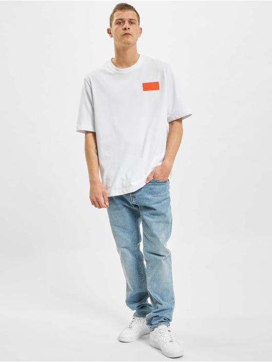 BALR T-Shirt LOAB Stadium Loose Fit blanc