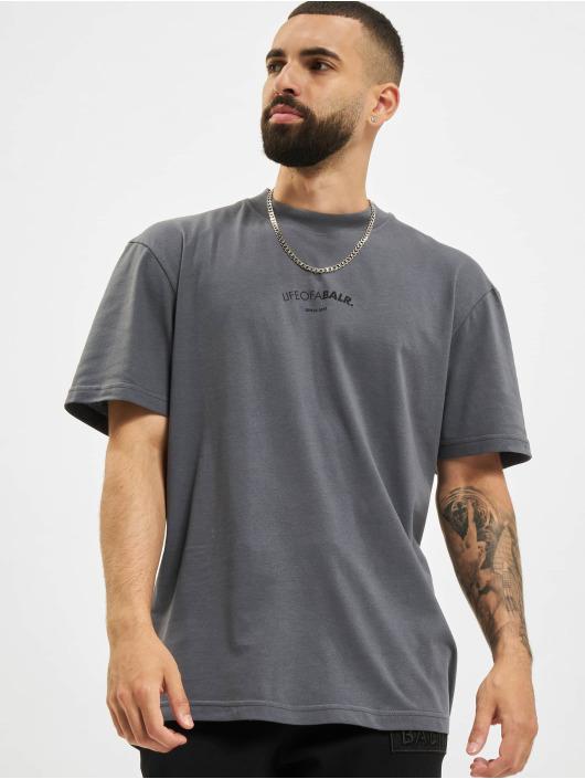 BALR T-Shirt LOAB Chest Box Fit gris