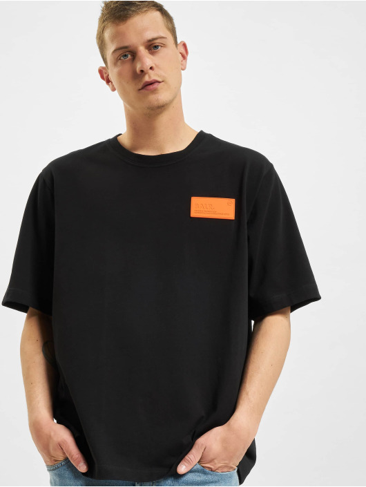 BALR T-Shirt LOAB Stadium Loose Fit noir