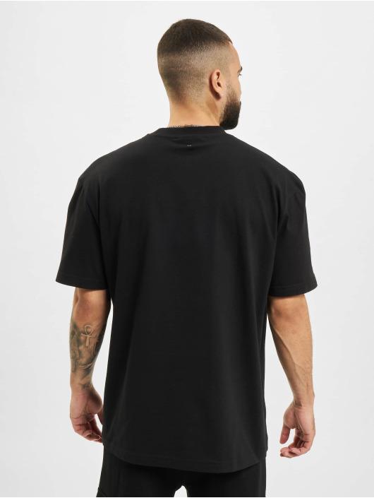BALR T-Shirt Crest Print Amsterdam Box Fit schwarz