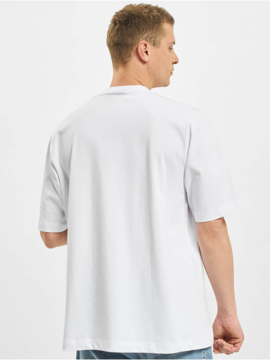 BALR T-Shirty LOAB Stadium Loose Fit bialy