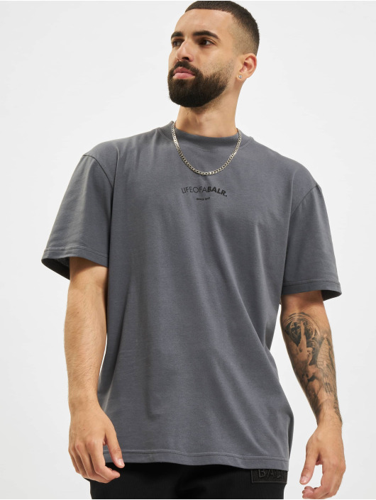 BALR T-skjorter LOAB Chest Box Fit grå