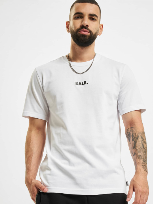 BALR T-skjorter BL Classic Straight hvit
