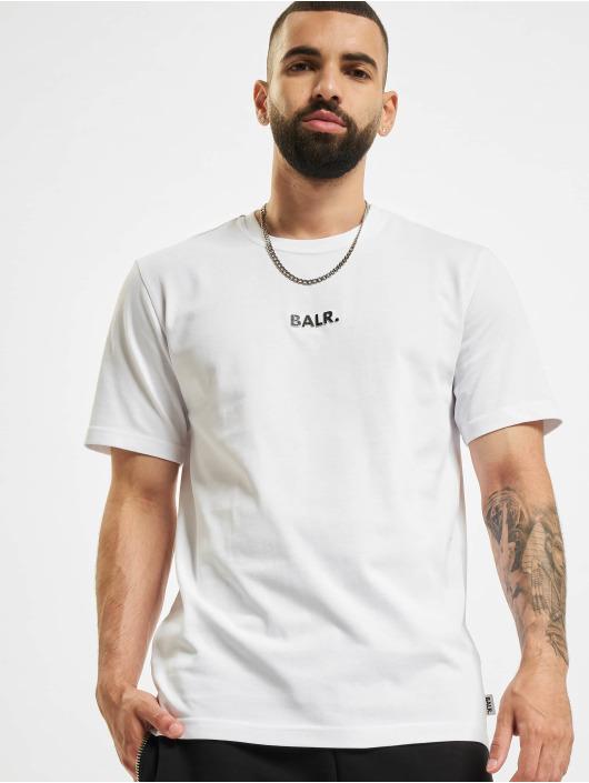 BALR Tričká BL Classic Straight biela