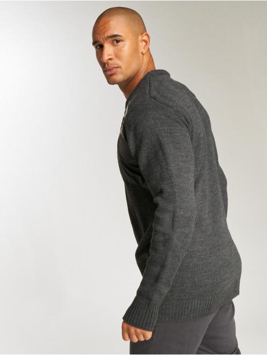 Bangastic Пуловер Knit серый