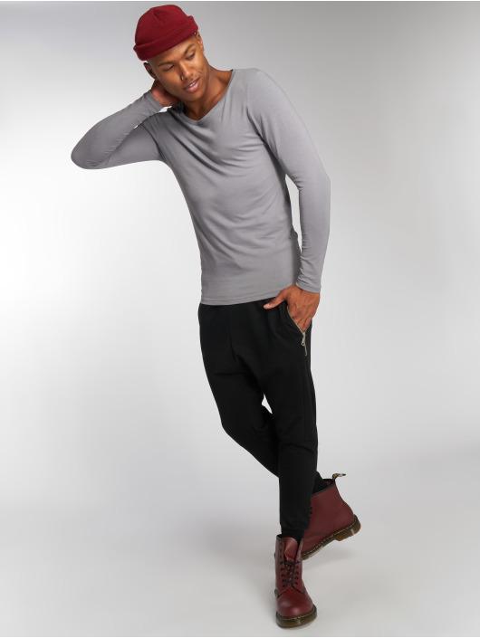 Bangastic Camiseta de manga larga Sleeve gris