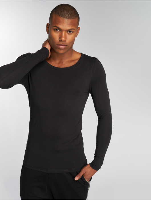 Bangastic Maglietta a manica lunga Sleeve nero