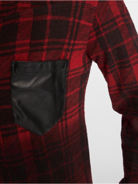 Bangastic overhemd Check rood