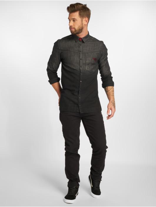 Bangastic overhemd Ryota zwart